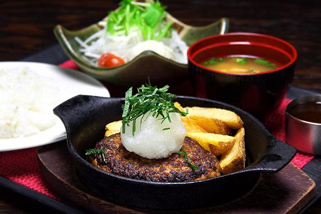 たんちゃん-鉄板おろしそハンバーグ定食.jpg